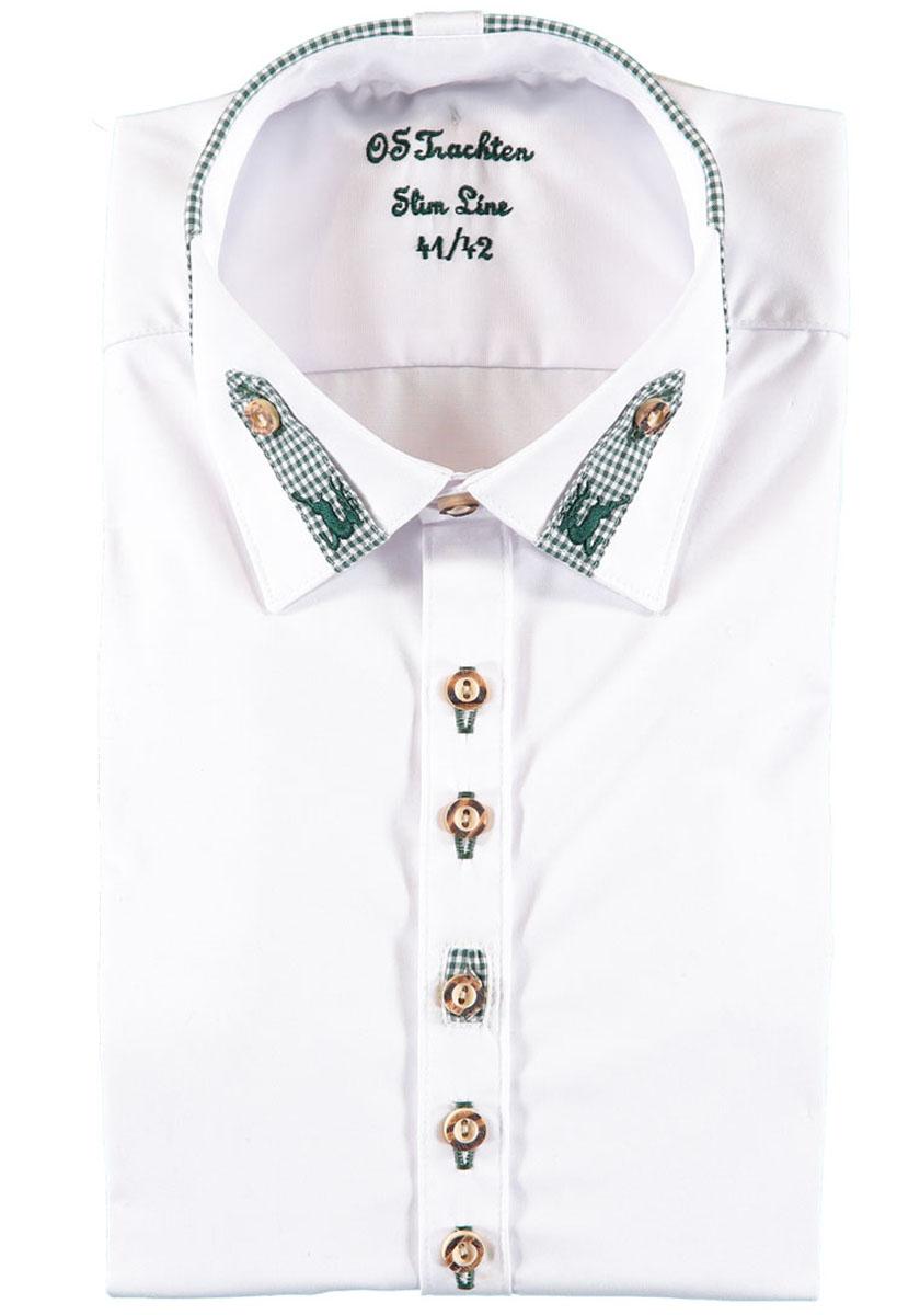 b11761591f62 Košeľa pánska biela s kockami – Darček pre polovníka